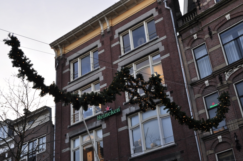 Christmas is slowly coming to Amsterdam