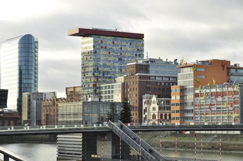 Docklands in Dusseldorf
