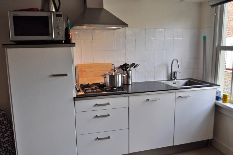 Amsterdam Kitchen - One small workspace